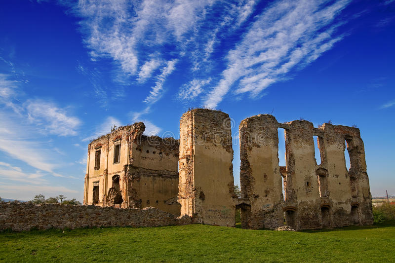 Ruines de château photos libres de droits