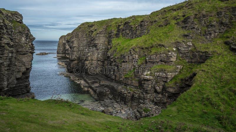Ruines de château d'Alistair photo libre de droits