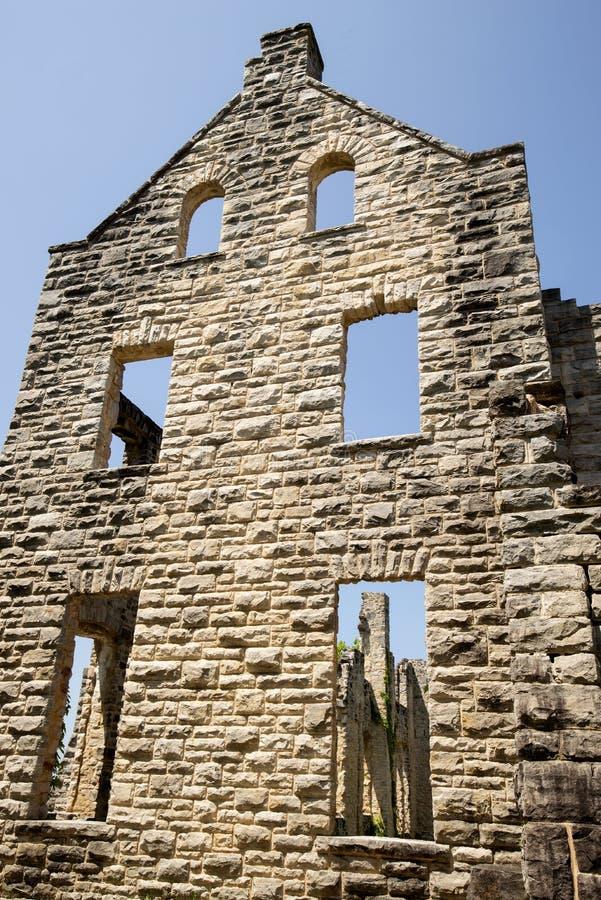 Ruines de château d'ha ha Tonka photographie stock
