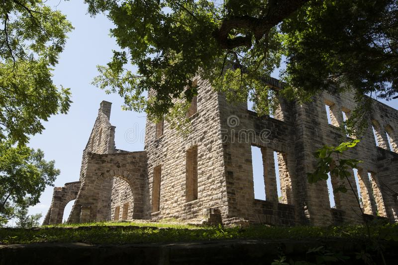 Ruines de château d'ha ha Tonka photos stock