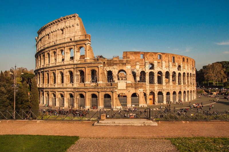 Ruines de Colloseum fotos de archivo libres de regalías