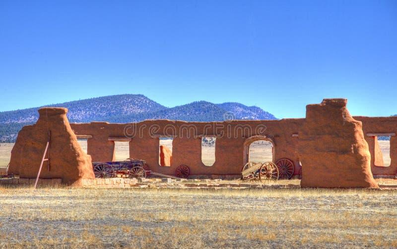Ruines de fort photo libre de droits