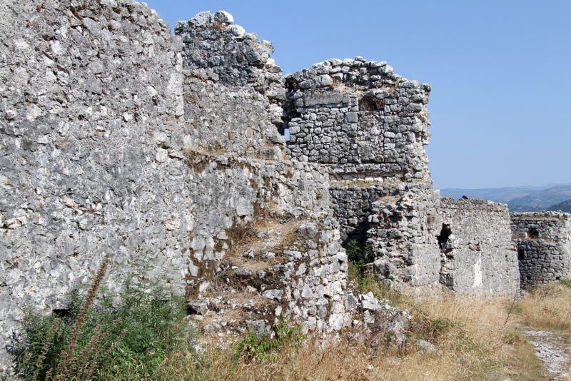 Ruines de forteresse images libres de droits