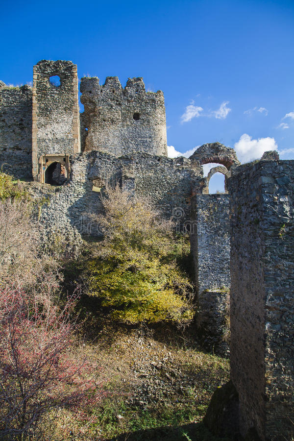 Ruines de forteresse photos stock
