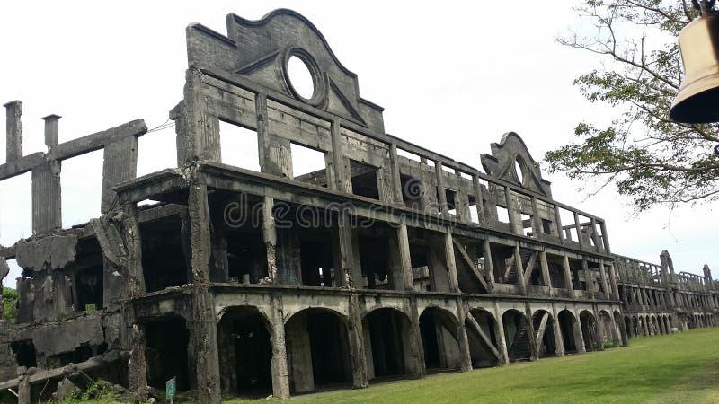Ruines de guerre photographie stock libre de droits