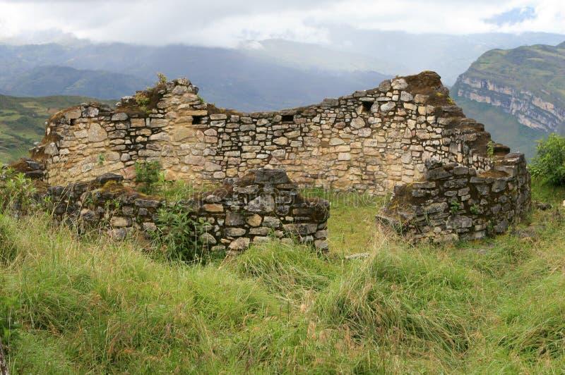 Ruines de Kuelap photos stock