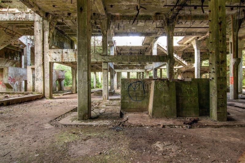 Ruines de l'ancienne mine d'étain Rolava - Sauersack images stock