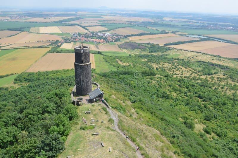 Ruines de la vieille tour photographie stock libre de droits