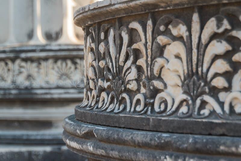 Ruines de la ville antique de Didyma (Didim actuel) photos stock