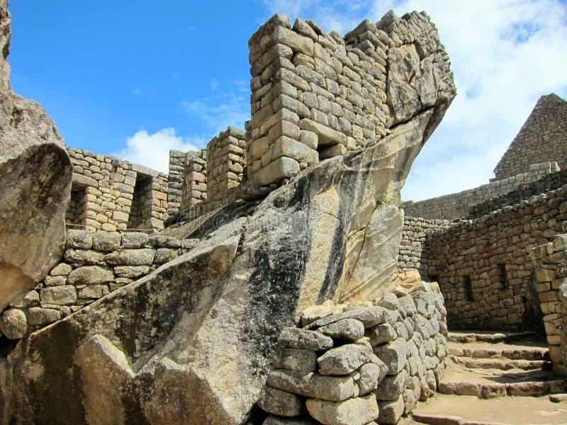 Ruines de Machu Picchu, Pérou photos stock