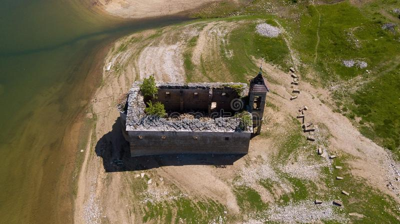Ruines de Mavrovo photo libre de droits