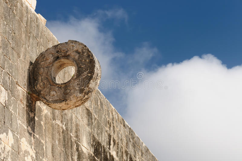 Ruines de Maya de Chichen Itza au Mexique photographie stock libre de droits