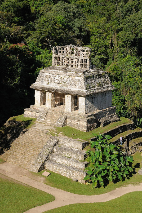 Ruines de Maya de Palenque au Mexique photo libre de droits