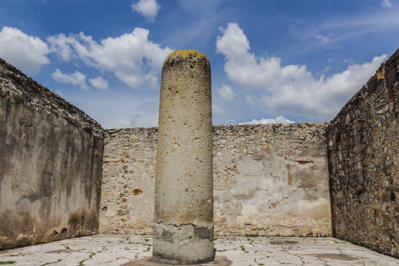 Ruines de Mitla à Oaxaca Mexique photographie stock
