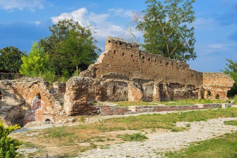 Download Ruines De Monastère Negoiesti Photo stock - Image du vert, affaiblissement: 45356540