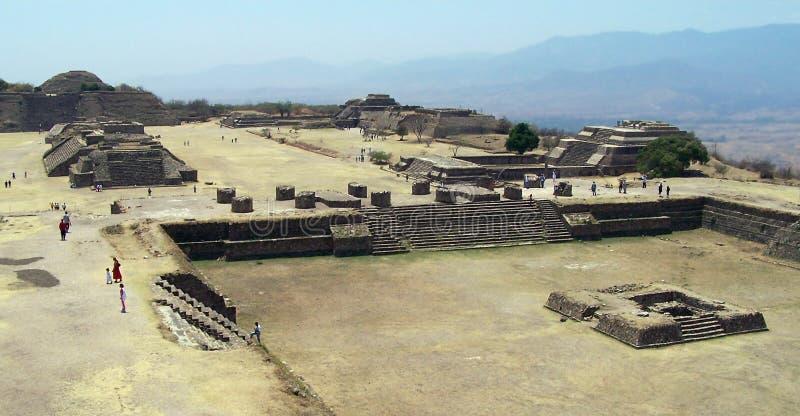ruines de monte d'Alban photos libres de droits
