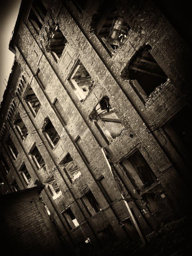 Ruines de moulin d'Assan images stock