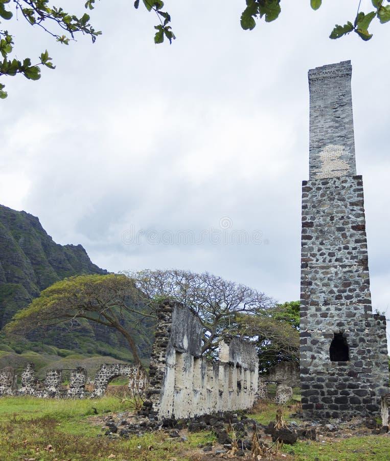 Ruines de moulin de sucre photo libre de droits