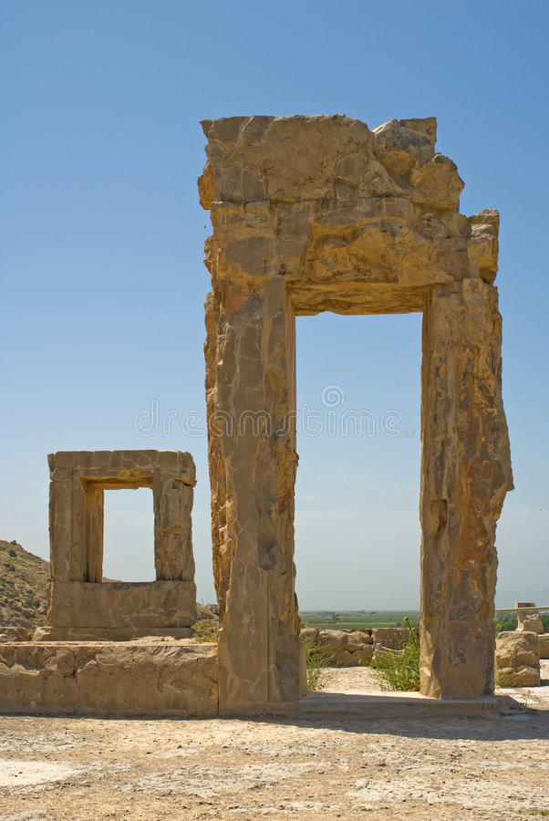 Ruines de Persepolis photo stock
