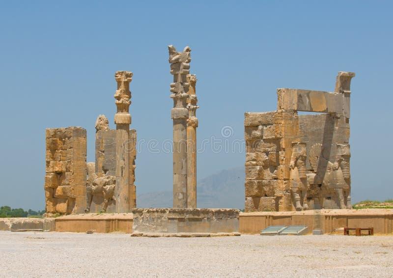 Ruines de Persepolis photographie stock