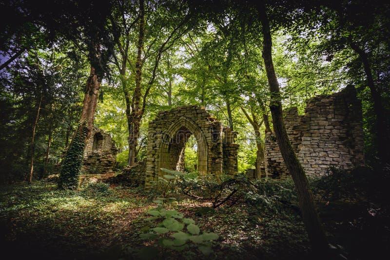 Ruines de pierre images libres de droits