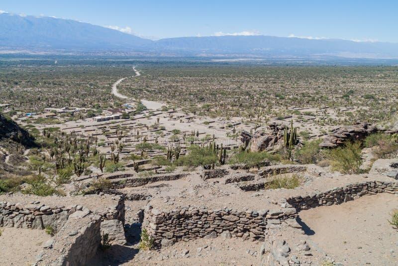 Ruines de Quilmes, Argentine images libres de droits