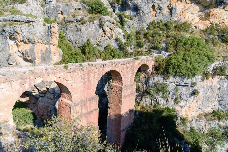 Ruines de Roman Aqueducts antique photos libres de droits