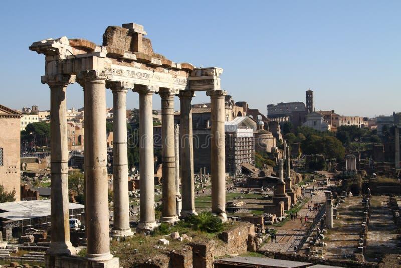 Ruines de Rome antique image libre de droits