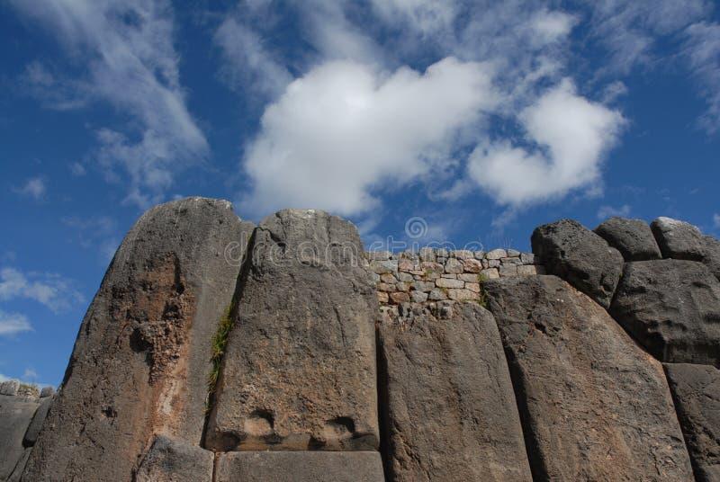 Ruines de Sacsayhuaman photo stock