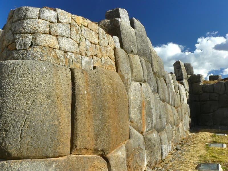 Ruines de Sacsayhuaman, Cuzco, Pérou. images stock