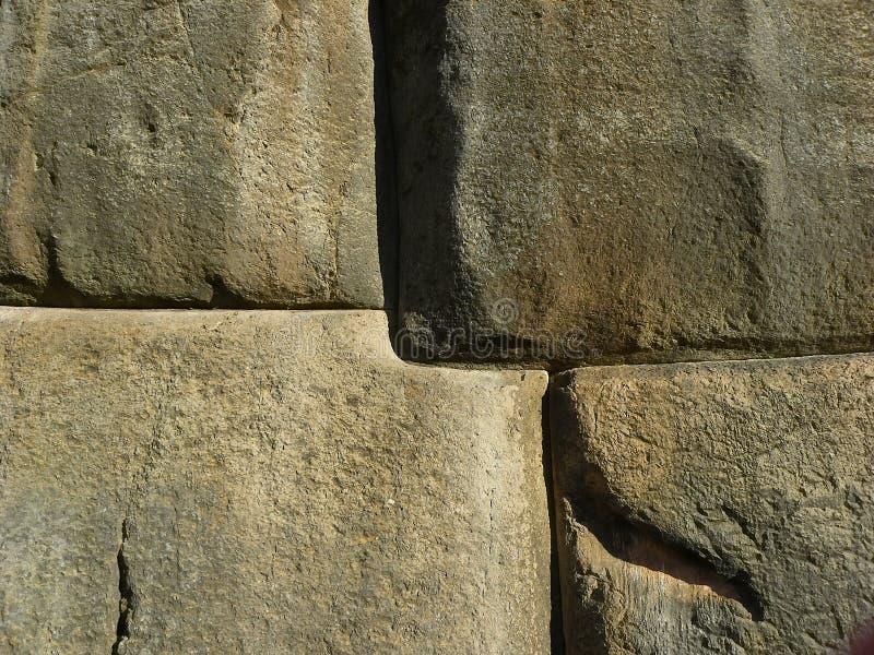 Ruines de Sacsayhuaman, Cuzco, Pérou. images libres de droits