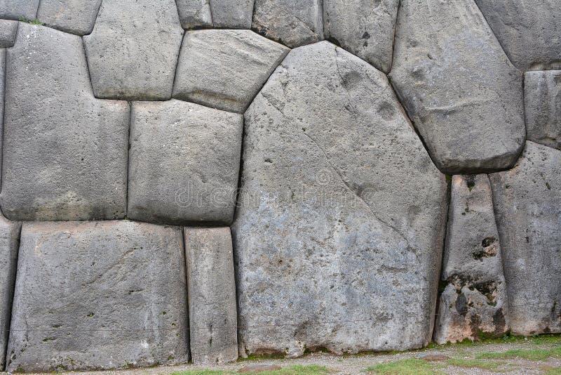 Ruines de Sacsayhuaman, Cuzco, Pérou image stock