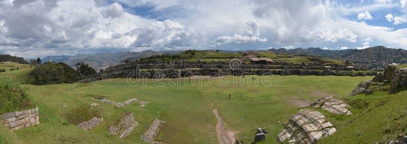 Ruines de Sacsayhuaman, Cuzco, Pérou photos stock