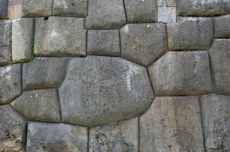 Ruines de Sacsayhuaman dans Cuzco Pérou photo libre de droits