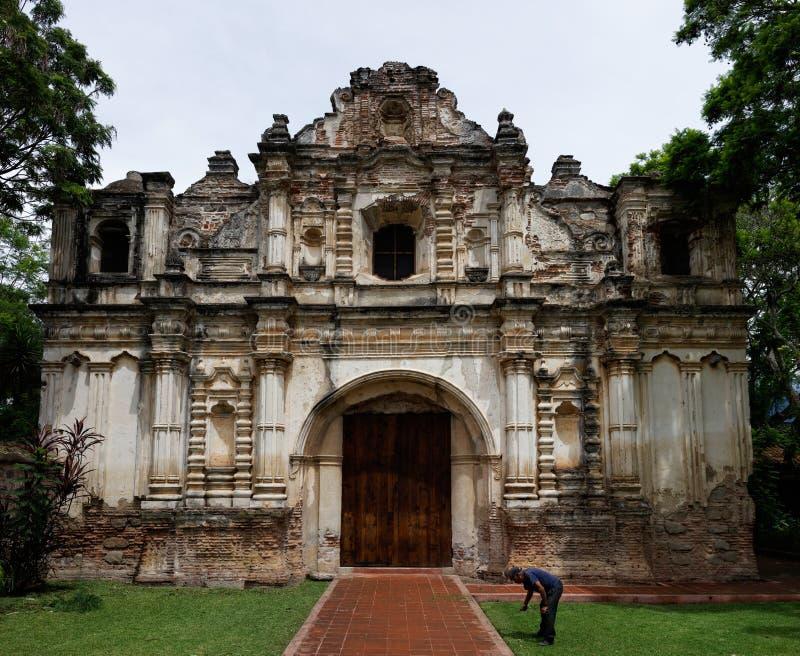 Ruines de San Jose El Viejo, Guatemala photos libres de droits