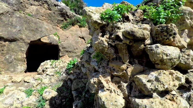 Ruines de Tipasa (Tipaza) La ville antic était un colonia dans les remplaçants romains de la Mauritanie Caesariensis de province clips vidéos