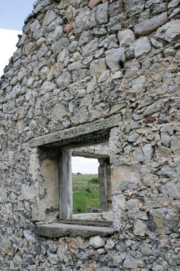 ruines de vieille maison en pierre photo stock image du. Black Bedroom Furniture Sets. Home Design Ideas