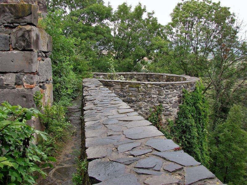 Ruines de Viglas, Slovaquie photos stock