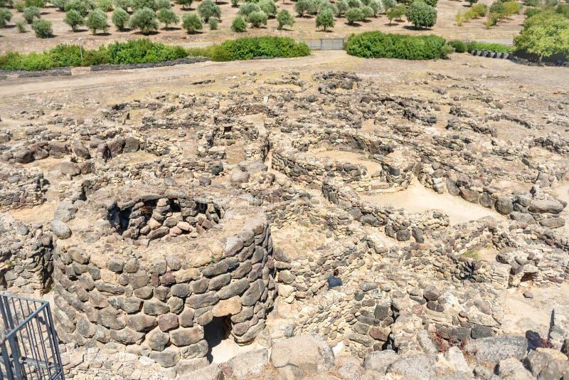 Ruines de ville antique images libres de droits