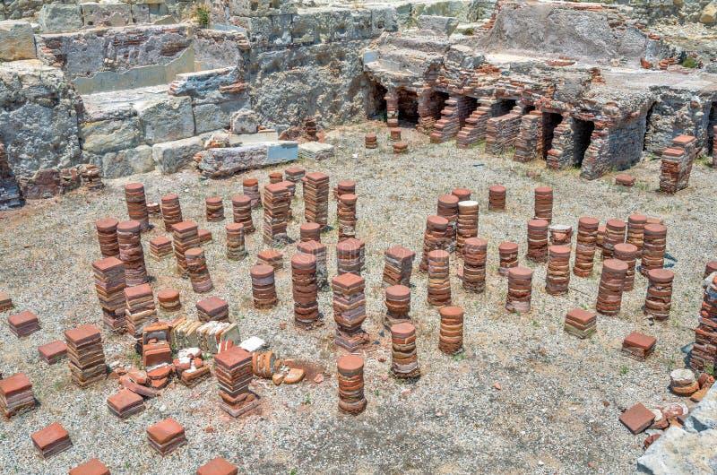 Ruines de ville antique Kourion cyprus photo stock