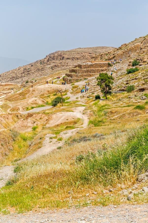 Ruines de ville de Persepolis images stock