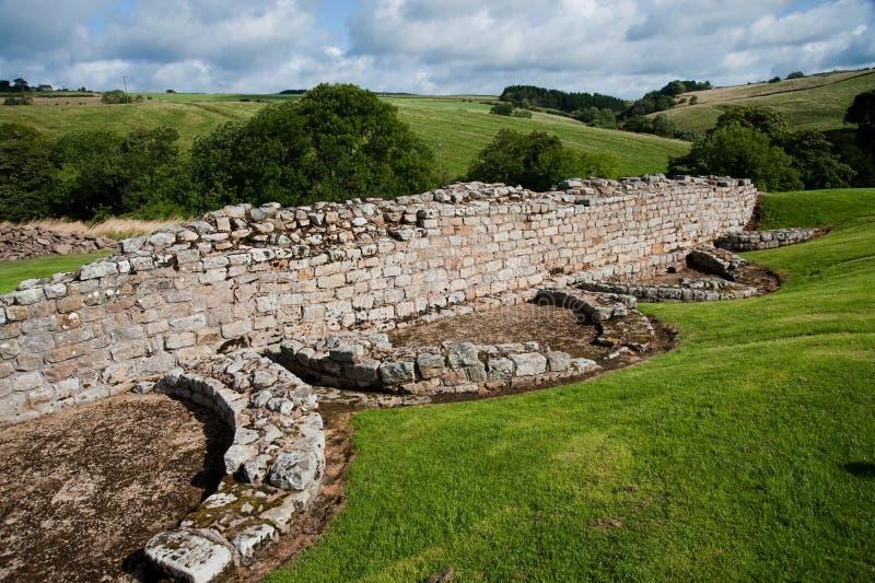 Ruines de Vindolanda image libre de droits
