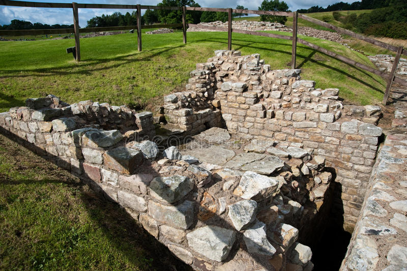 Ruines de Vindolanda photos stock