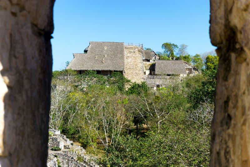 ruines maya antiques image libre de droits