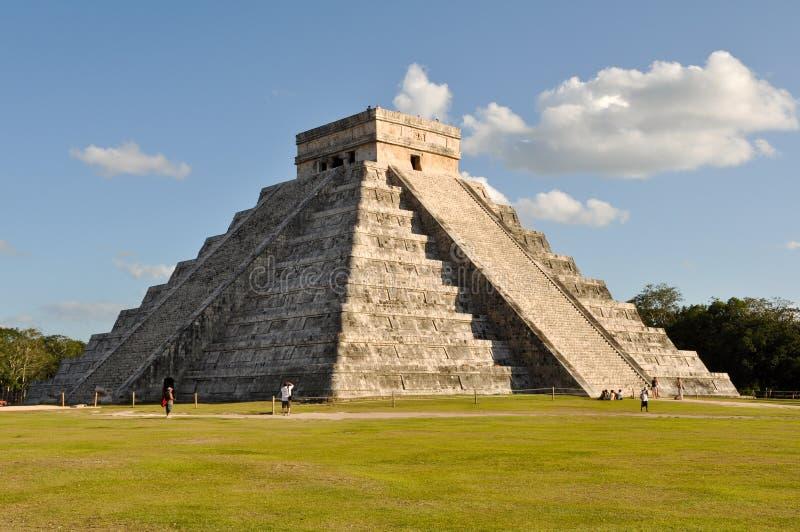 Ruines maya de Chichen Itza images libres de droits