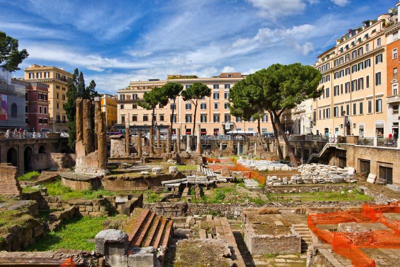 Ruines romaines à Rome Italie images libres de droits