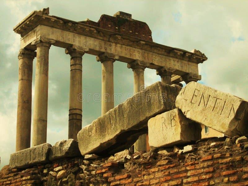 Ruines romaines image libre de droits