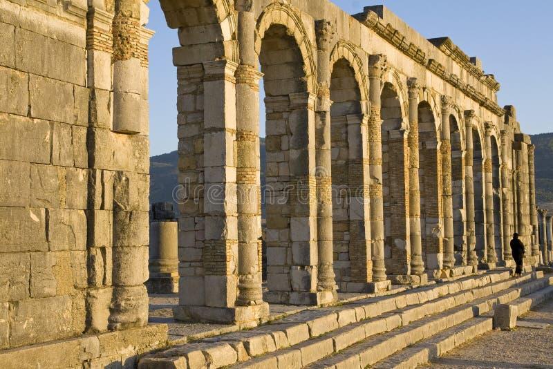 Ruines romaines photographie stock