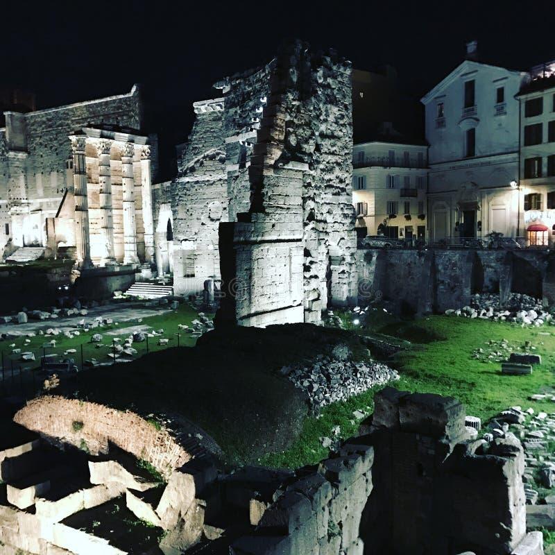 Ruines romaines images libres de droits