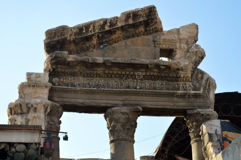 Ruines romaines photographie stock libre de droits